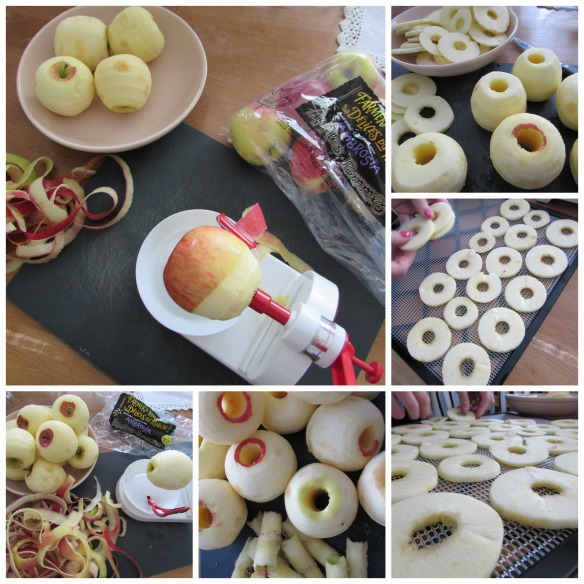 Collage apples