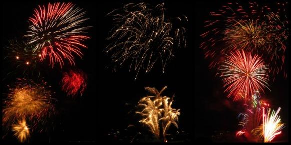 b-day fireworks